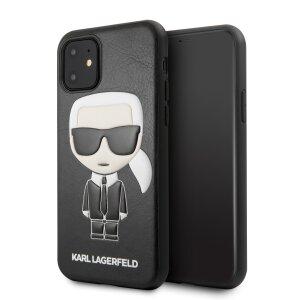 Husa Hard iPhone 11 Karl Lagerfeld Negru