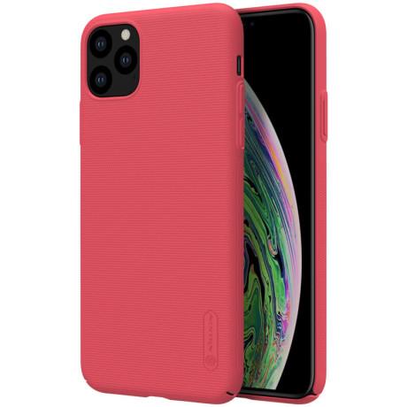 Husa Hard iPhone 11 Pro, Frosted Shield Rosu Nillkin