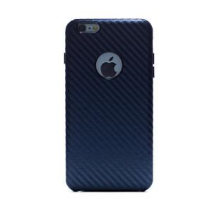 Husa hard Iphone 6 Albastru Piele Ecologica