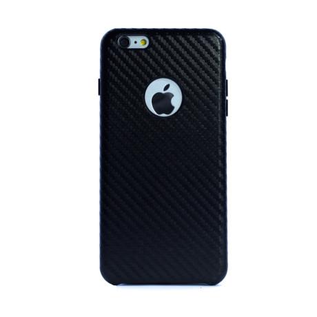 Husa hard Iphone 6 Plus Negru Piele Ecologica