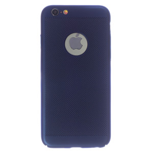 Husa Hard iPhone 6/6s  Albastru- Model perforat