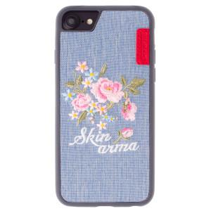 Husa Hard iPhone 6/7/8 Irezumi Light, Skinarma Albastra