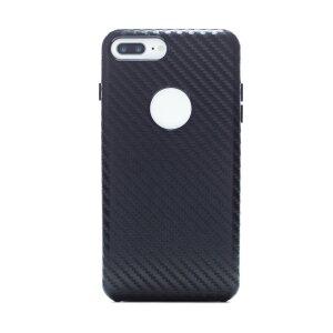 Husa hard Iphone 7 Plus Negru Piele Ecologica
