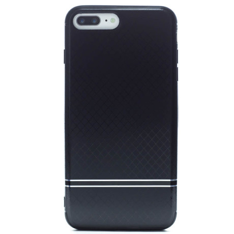 Husa hard iPhone 7 Plus/8 Plus Negru iShield