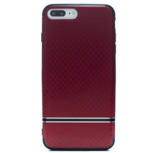 Husa hard iPhone 7 Plus/8 Plus Rosu iShield