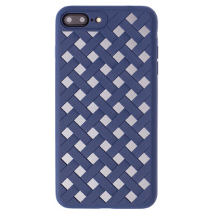Husa hard iPhone 7/8 Plus Baseus Paper-Cut Albastra