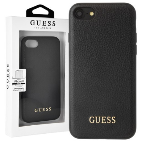GUHCI8GLBK Guess IriDescent TPU Kryt pro iPhone 7/8/SE2020 Black