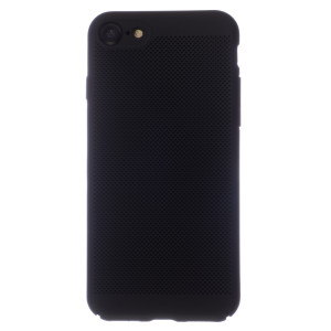 Husa Hard iPhone 7/8/SE 2 Negru- Model perforat