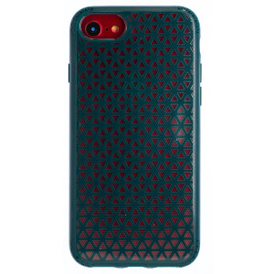 Husa Hard iPhone 7/8/SE 2, Verde Geometric