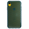 Husa Hard iPhone XR, Verde Geometric
