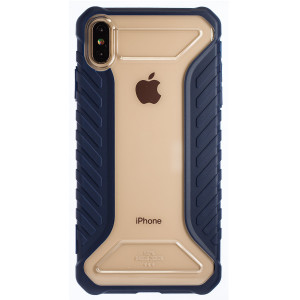 Husa Hard iPhone XS Max Michelin, Baseus Albastru