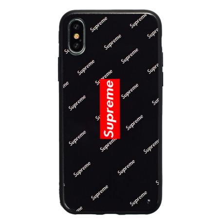 Husa hard iPhone X/XS Negru Supreme
