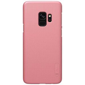 Husa Hard Nillkin + Folie inclusa Samsung Galaxy S9 Roz