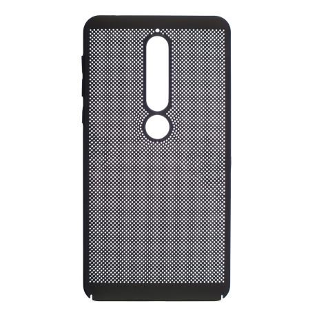 Husa Hard Nokia 6 2018 Negru- Model perforat