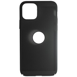 Husa Hard pentru iPhone 11 Pro Negru - Model Perforat