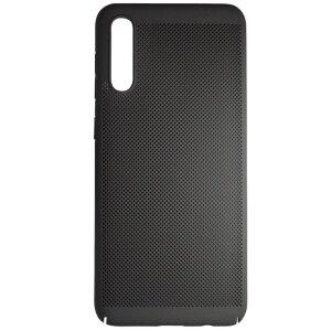 Husa Hard pentru Samsung Galaxy A50 Negru - Model perforat