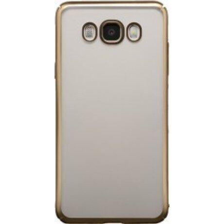 Husa Hard Pentru Samsung Galaxy J7 2016 Rama Auriu
