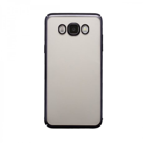 Husa Hard Pentru Samsung Galaxy J7 2016 Rama Negru