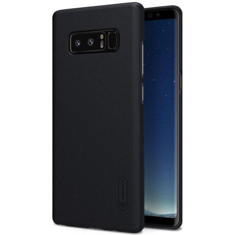 Husa Hard Pentru Samsung Galaxy Note 8 Negru+Folie Nillkin