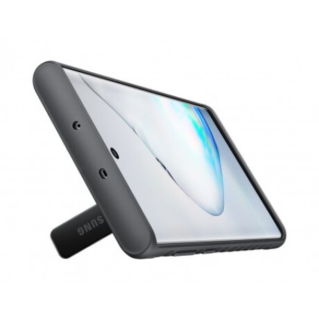 Husa Hard Protective Standing Cover Smausng Galaxy Note 10 Negru