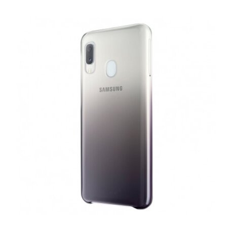 Husa Hard Samsung Galaxy A20e Gradation Cover Negru EF-AA202CBEGWW