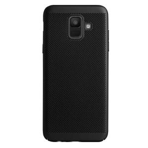Husa Hard Samsung Galaxy A6 2018 Negru - Model perforat