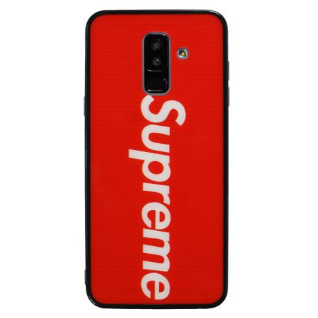 Husa hard Samsung Galaxy A6 Plus 2018 Rosu Supreme