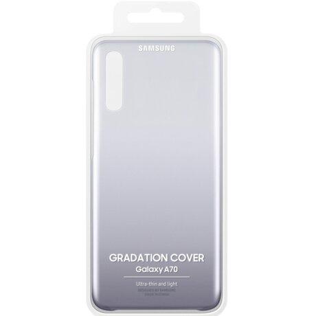 Husa Hard Samsung Galaxy A70, Black Gradiation Cover
