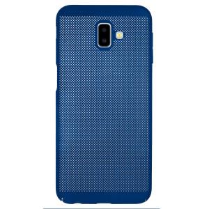 Husa hard Samsung Galaxy J6 Plus Albastru- Model perforat