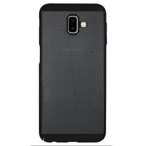 Husa hard Samsung Galaxy J6 Plus Negru- Model perforat