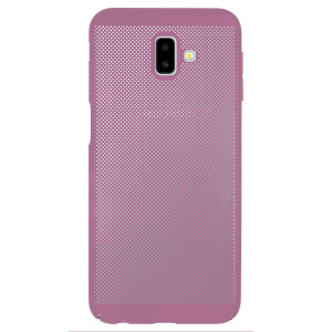 Husa hard Samsung Galaxy J6 Plus Roz- Model perforat