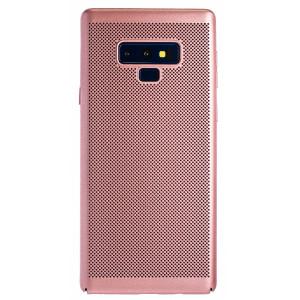 Husa hard Samsung Galaxy Note 9 Roz - Model perforat