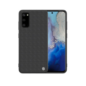 Husa hard Samsung Galaxy S20, Nylon Fiber Nillkin, Negru