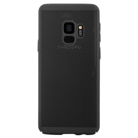 Husa hard Samsung Galaxy S9 Negru - Model perforat