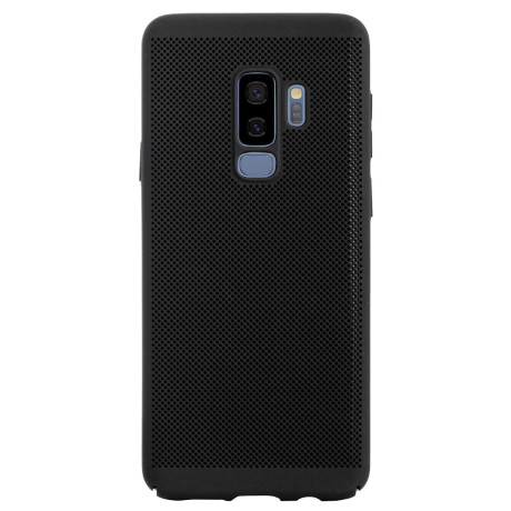 Husa hard Samsung Galaxy S9 Plus Negru - Model perforat