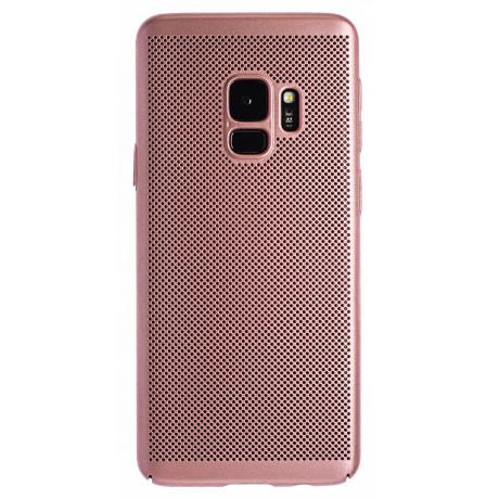 Husa hard Samsung Galaxy S9 Roz - Model perforat