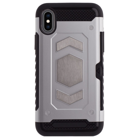 Husa Hybrid Magnetica iPhone X/XS, Gri