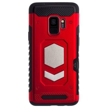 Husa Hybrid Magnetica Samsung Galaxy S9, Rosie