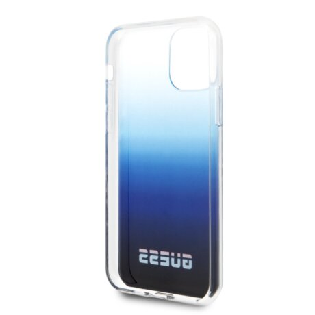 Husa iPhone 11 Pro Max, California Guess, Albastru
