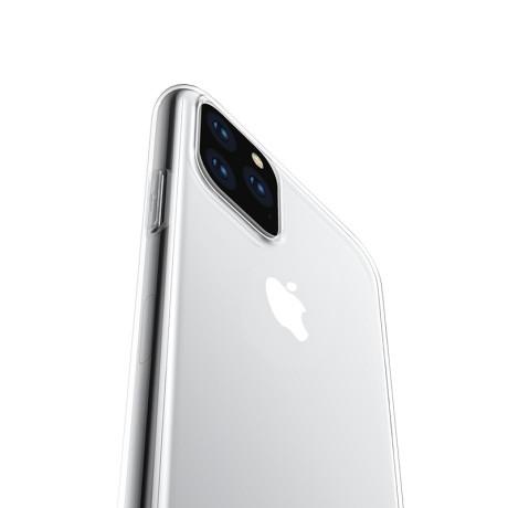 Husa iPhone 11 Pro Max Transparent Light TPU Hoco