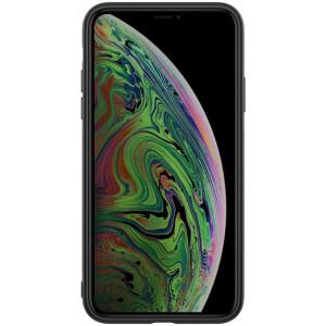 Husa iPhone 11 Synthetic Fiber Negru Nillkin