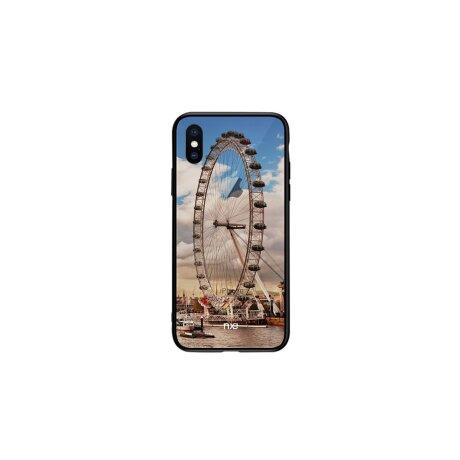 Husa pentru iPhone X, Pattern Printing Rock,  Sky Wheel
