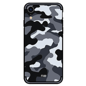Husa iPhone XR Camouflage Pattern Gri NXE