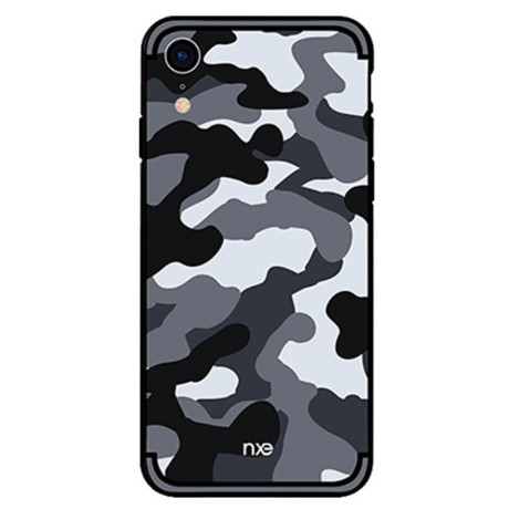 Husa iPhone XR 6.1'' Camouflage Pattern Gri NXE