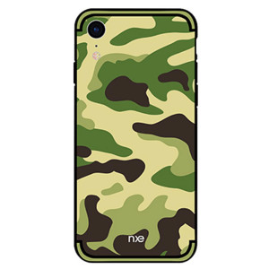 Husa iPhone XR Camouflage Pattern Verde Deschis NXE