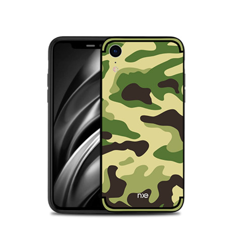 Husa iPhone XR 6.1'' Camouflage Pattern Verde Deschis NXE