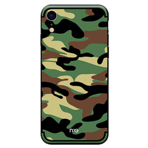Husa iPhone XR Camouflage Pattern Verde NXE