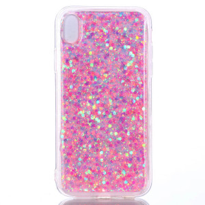 Husa iPhone XR Changing Sequins Roz