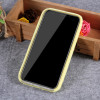 Husa iPhone XR 6.1'' Fluffy Fur Galben Deschis