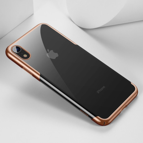 Husa iPhone XR 6.1'' Glitter Electroplated, Baseus Aurie
